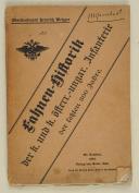 Fahnen-Historik Der K. Und K. Sterr.-Ungar. Infanterie Der Letzten 300 Jahre [Broché]  (1)