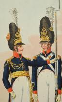 Photo 2 : EDER Joseph, DIE GRENADIERS VON BURGER REGIMENT IN WIEN, PREMIER TIERS DU 19°