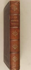 Photo 3 : HINARD. Dictionnaire Napoléon ou recueil alphabétique des opinions et jugements de l'empereur Napoléon 1er.