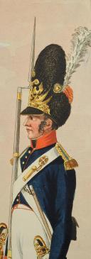 Photo 3 : EDER Joseph, DIE GRENADIERS VON BURGER REGIMENT IN WIEN, PREMIER TIERS DU 19°