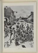 """Photo 3 : MONNET – """" Avec les volontaires du 1er Bataillon de la Haute Saône, dit Bataillon de Gray """""""