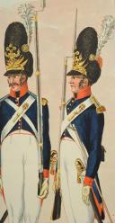 Photo 4 : EDER Joseph, DIE GRENADIERS VON BURGER REGIMENT IN WIEN, PREMIER TIERS DU 19°