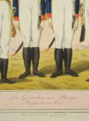 EDER Joseph, DIE GRENADIERS VON BURGER REGIMENT IN WIEN, PREMIER TIERS DU 19° (5)