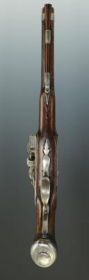 PISTOLET DES GARDES DU CORPS DE LA MAISON MILITAIRE DU ROI, MODÈLE 1755, ANCIENNE MONARCHIE. (6)