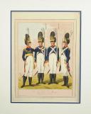Photo 6 : EDER Joseph, DIE GRENADIERS VON BURGER REGIMENT IN WIEN, PREMIER TIERS DU 19°
