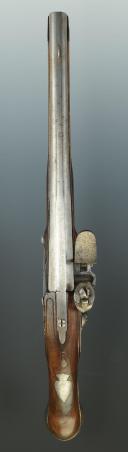 PISTOLET DES GARDES DU CORPS DE LA MAISON MILITAIRE DU ROI, MODÈLE 1755, ANCIENNE MONARCHIE. (9)