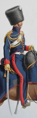 Photo 2 : 1820. Garde Royale. Artillerie à Cheval. BrigaLieutenant en Premier.