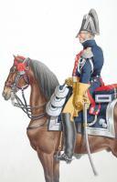 1819. Gendarmerie Royale des Départements. Lieutenant-Colonel, grande tenue. (2)