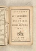 ETRENNES dédiées aux militaires ou les fastes de la gloire française.  (3)