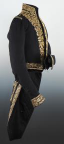 Photo 3 : HABIT DE CÉRÉMONIE DE GÉNÉRAL DE DIVISION AYANT APPARTENU AU DUC D'AUMALE, modèle 1830, Monarchie de Juillet.