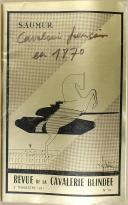 """Photo 1 :  """" Revue de la Cavalerie Blindée """" - Revue trimestrielle - Saumur - Avril 1971"""