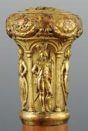 Photo 1 : CANNE DITE DE DEMI-SOLDE, MILIEU XIXème SIÈCLE.