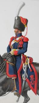 Photo 2 : 1820. Garde Royale. Artillerie à Cheval. Artilleur.