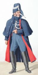 Photo 2 : 1819. Gendarmerie Royale des Départements. Gendarme, Brigadier.