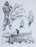 """Photo 3 : BRENET - """" Musée de la Marine 1974 """" - Livret - Artiste"""