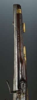 Photo 4 : PISTOLET DE CAVALERIE DE DRAGONS « L'HOPITAL DRAGONS », MODÈLE 1733, ANCIENNE MONARCHIE.