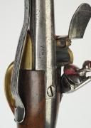 """Photo 6 : PISTOLET DE CAVALERIE, MODÈLE 1777, dit à """"coffre""""."""