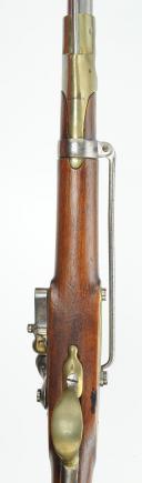 Photo 6 : MOUSQUETON DE HUSSARD ET CAVALERIE LÉGÈRE, MODÈLE 1786, TYPE AN IX, PREMIER EMPIRE.