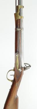 Photo 9 : MOUSQUETON DE HUSSARD ET CAVALERIE LÉGÈRE, MODÈLE 1786, TYPE AN IX, PREMIER EMPIRE.