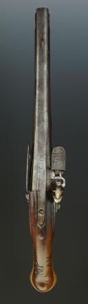 Photo 9 : PISTOLET DE CAVALERIE DE DRAGONS « L'HOPITAL DRAGONS », MODÈLE 1733, ANCIENNE MONARCHIE.
