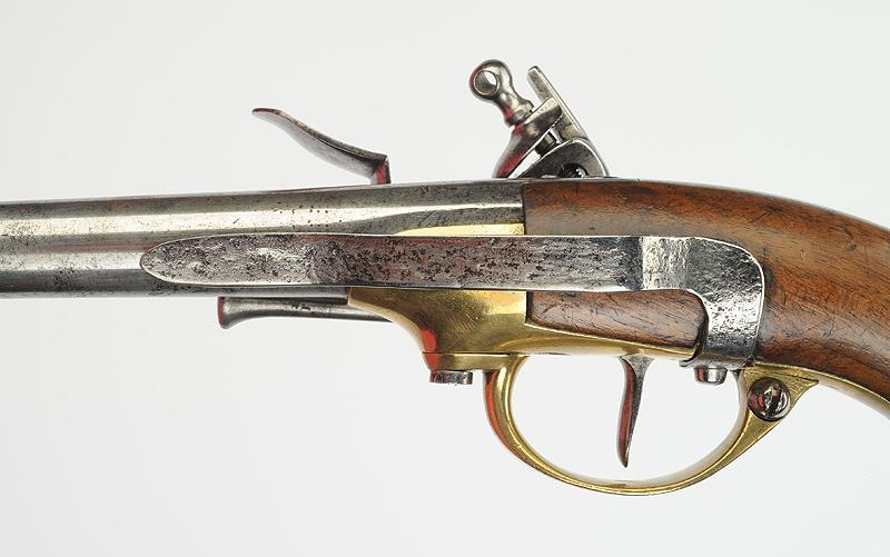 Pistolet de cavalerie mod le 1777 dit coffre for Pistolet de decoration