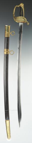 SABRE D'OFFICIER DES CHASSEURS DE VINCENNES, modèle 1837, MONARCHIE D JUILLET. (1)