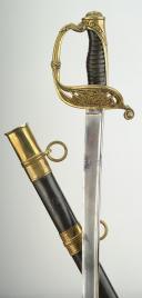 SABRE D'OFFICIER DES CHASSEURS DE VINCENNES, modèle 1837, MONARCHIE D JUILLET. (2)