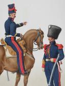 Photo 2 : 1820. Garde Royale. Artillerie à Cheval. Brigadier. Artificier.