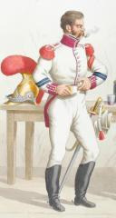 Photo 2 : 1816. Carabiniers de Monsieur. Brigadier, Trompette