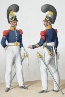 Photo 2 : 1824. Cuirassiers. Maréchal-Ferrant, Brigadier (6e Régiment - de Condé).