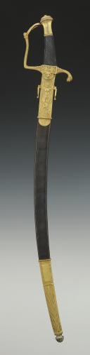 Photo 2 : REPRODUCTION D'UN SABRE D'OFFICIER DE MARINE, modèle Prairial An XII, Premier Empire.