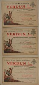 GERVAIS-COURTELLEMONT. Verdun. Les champs de batailles de la Marne.  (3)