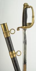 SABRE D'OFFICIER DES CHASSEURS DE VINCENNES, modèle 1837, MONARCHIE D JUILLET. (3)