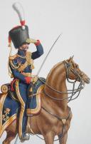 1824. Garde Royale. Artillerie à Cheval. Chef d'Escadron. (2)