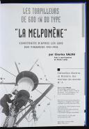 """Photo 2 : CHARLES SALOU : LES TORPILLEURS DE 600 TW DU TYPE """"LA MELPOMÈNE""""."""