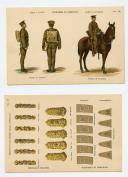 Photo 2 : PLANCHES D'UNIFORMES DES ARMÉES BRITANNIQUES VERS 1880-1900.