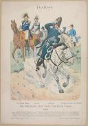 "R. KNÔTEL -  "" Italien - Das Italienische Heer unter Vice-König Eugen 1812 "" - Gravure - n° 58"