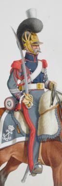1820. Garde Royale. Train d'Artillerie. Maréchal des Logis. (2)