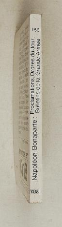 Napoléon. Bonaparte – PROCLAMATIONS – ORDRES DU JOUR  (2)