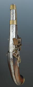 Photo 3 : PISTOLET, modèle An IX de Charleville, PREMIER EMPIRE.