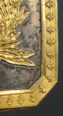 Photo 4 : PLAQUE DE CEINTURON D'OFFICIER DES GRENADIERS À CHEVAL DE LA GARDE ROYALE, 1816-1830, RESTAURATION.
