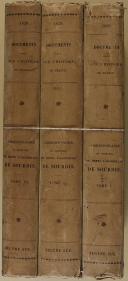 """EUGÈNE SUE - """" Correspondance de Henri d'Escoubleau de Sourdis """" - 3 Tomes - Paris - 1839 (5)"""