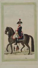 Nicolas Hoffmann, 13 régiment de cavalerie (Orléans) au règlement de 1791. (2)
