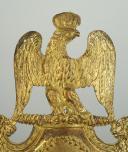 PLAQUE DE SHAKO D'OFFICIER DE GRENADIER DU 79 ème REGIMENT D'INFANTERIE DE LIGNE, MODELE 1812, PREMIER EMPIRE. (2)