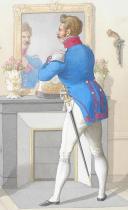 Photo 2 : 1816. Carabiniers de Monsieur. Carabinier, Lieutenant.