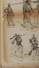 """Photo 5 : IMPRIMERIE des Arts et Manufactures - """" Tirailleurs Indigènes """" - Imagerie parisienne - Série B - n°"""