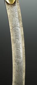 "SABRE DU CORPS DES MATELOTS DE LA GARDE IMPÉRIALE "" MARINS DE LA GARDE "", PREMIER EMPIRE (1804-1815). (9)"