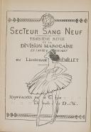 """Lt GRÉMILLET - """" Secteur sang neuf  """" - Revue - numéro 3 - Paris   (2)"""