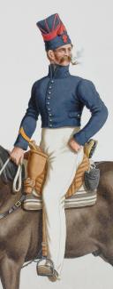 Photo 2 : 1824. Garde Royale. Artillerie à Cheval. Premier Canonnier.