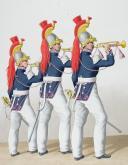 1830. Cuirassiers. Trompettes (10e Régiment ). (2)